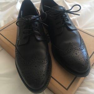 ASOS Black Leather Brogues